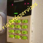 Solution riasztó riasztórendszerek szerelése javítása